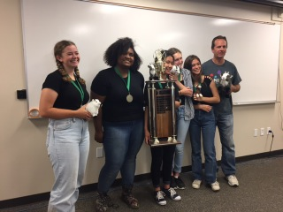 Team GOAT from Palisades Charter HS takes 1st place in 2017 CA Envirothon!