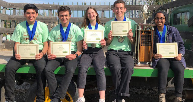 2019 California Envirothon winning team is the Granada Hills Charter High School